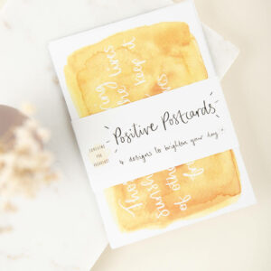 Pack of Positive Postcards by Sunshine for Breakfast