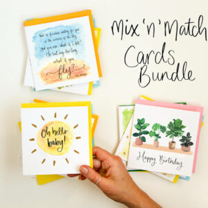 range of greeting cards by Sunshine for Breakfast